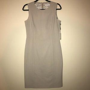 Calvin Klein Midi Length Khaki Dress